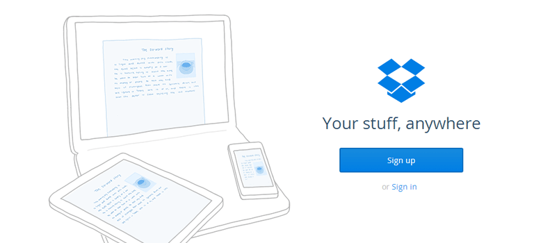 Share Files/Online Backup with DropBox - Envigor