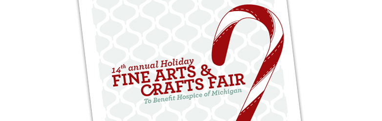 Poster Design for Hospice Arts/Crafts Fair - Envigor