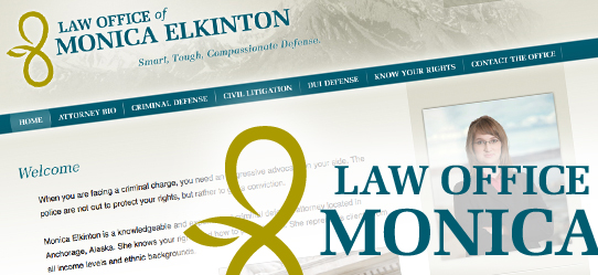 Identity & Site for Emerging Alaskan Attorney - Envigor