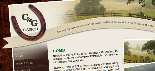 Pennsylvania Ranch Website Gets A New Look - Envigor