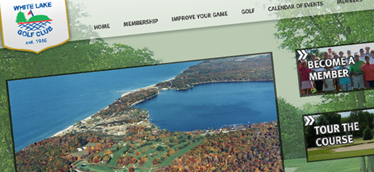 White Lake Golf Club Re-Design - Envigor