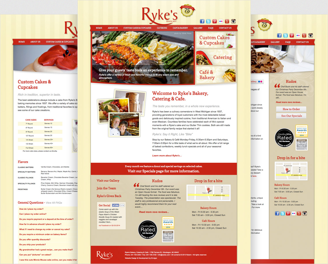 Rykes Bakery, Catering & Café - Project Example 2