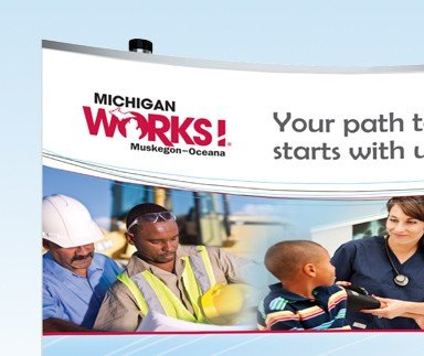 Michigan Works! Muskegon-Oceana - Print Design