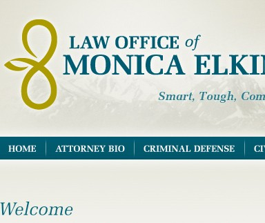 Law Office of Monica Elkinton - Web Design & Branding