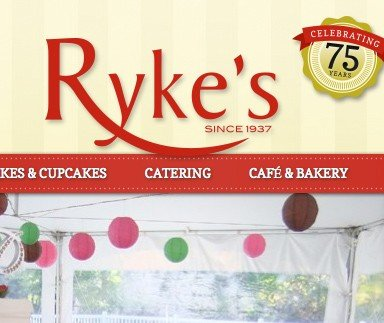 Rykes Bakery, Catering & Café - Web Design & Development