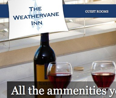 The Weathervane Inn - Web Design & Development