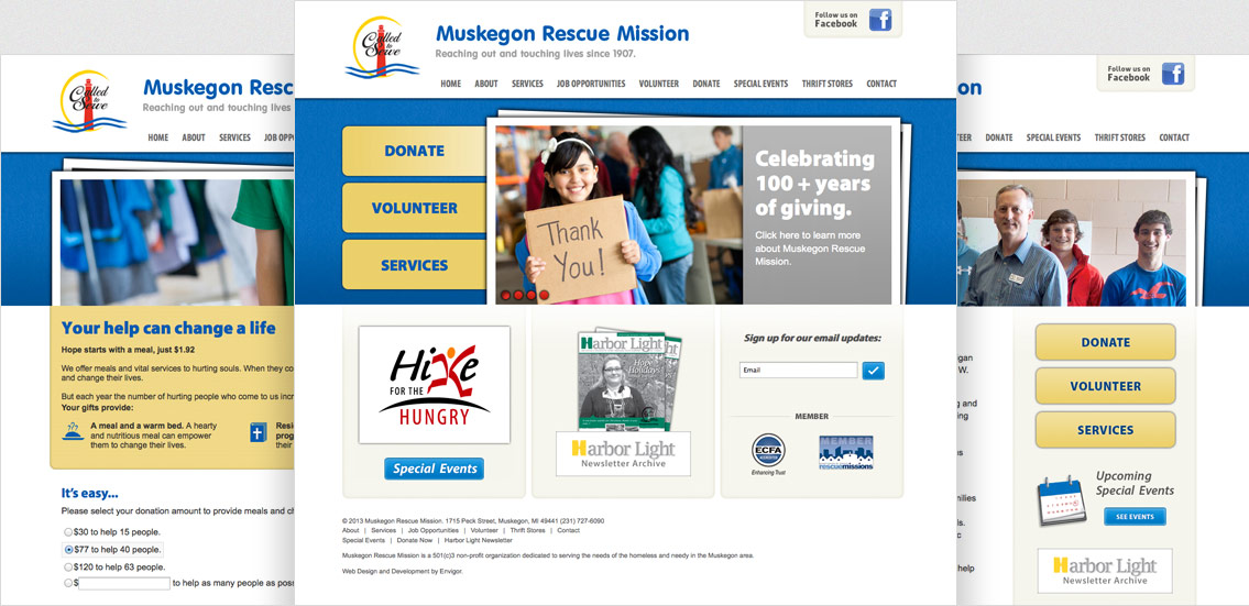 Muskegon Rescue Mission - Project Example 2