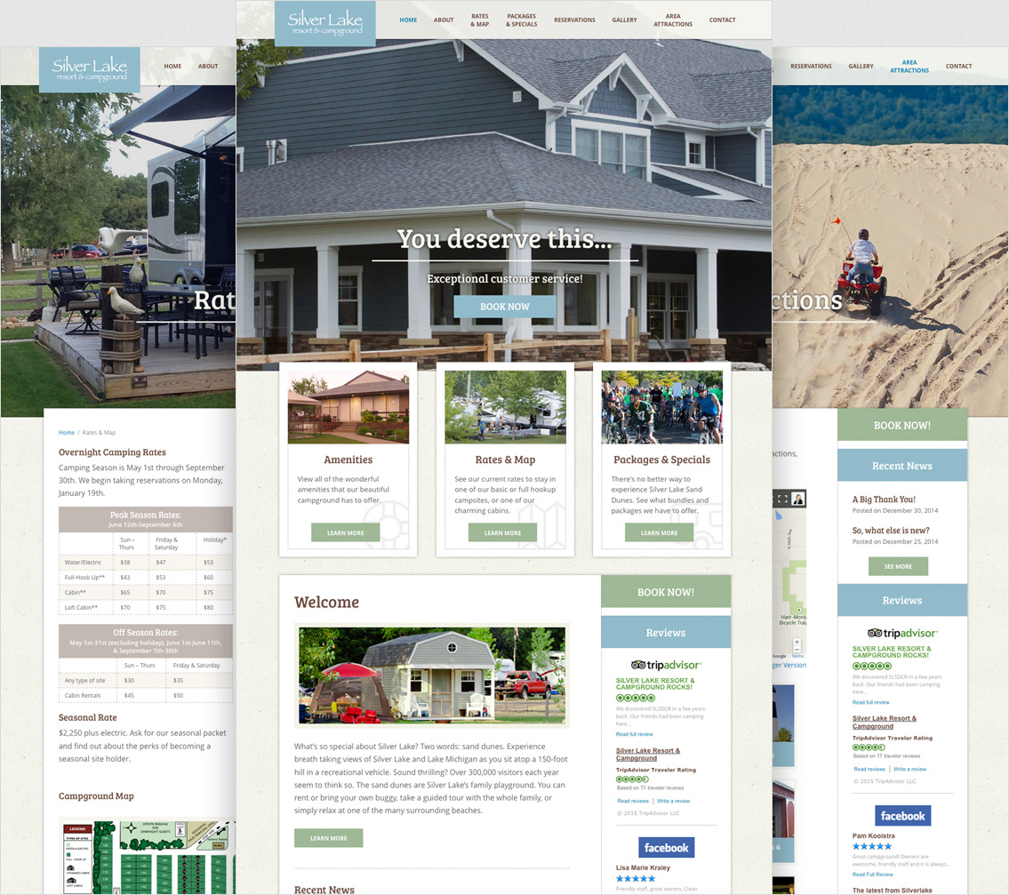 Silver Lake Resort & Campground - Project Example 2