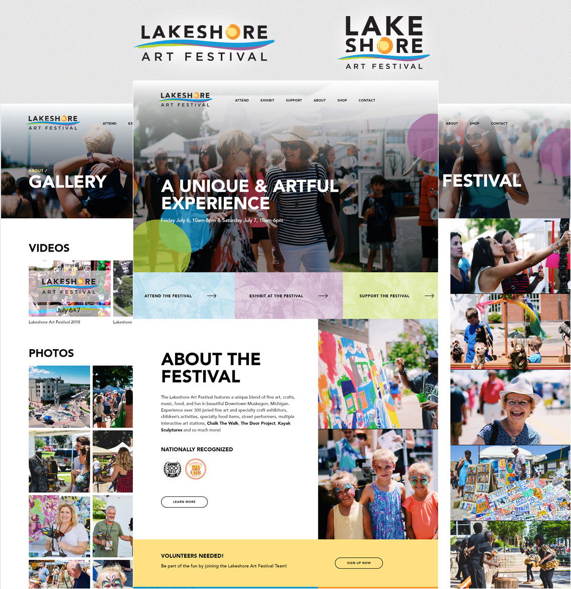 Lakeshore Art Festival - Project Example 2