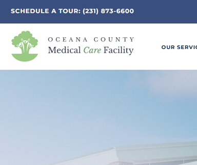 Oceana County Medical Care Facility - Web Design & Development